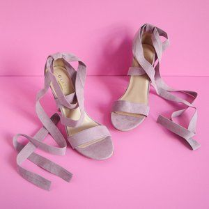 Glaze Light Lavender Heels